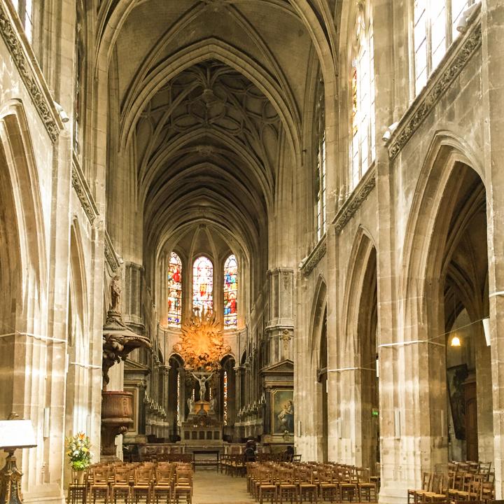 Paris - France - Saint Merri church
