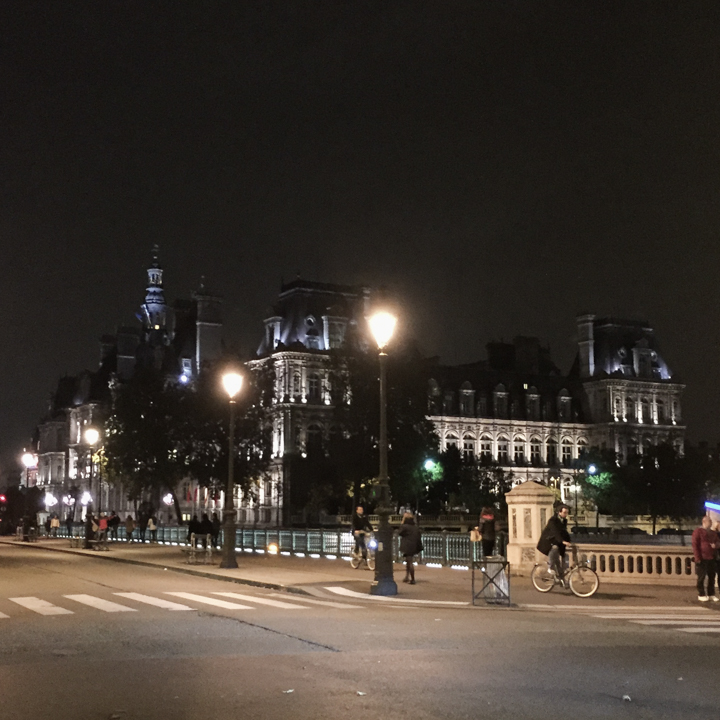 Paris - France - Town Hall by night