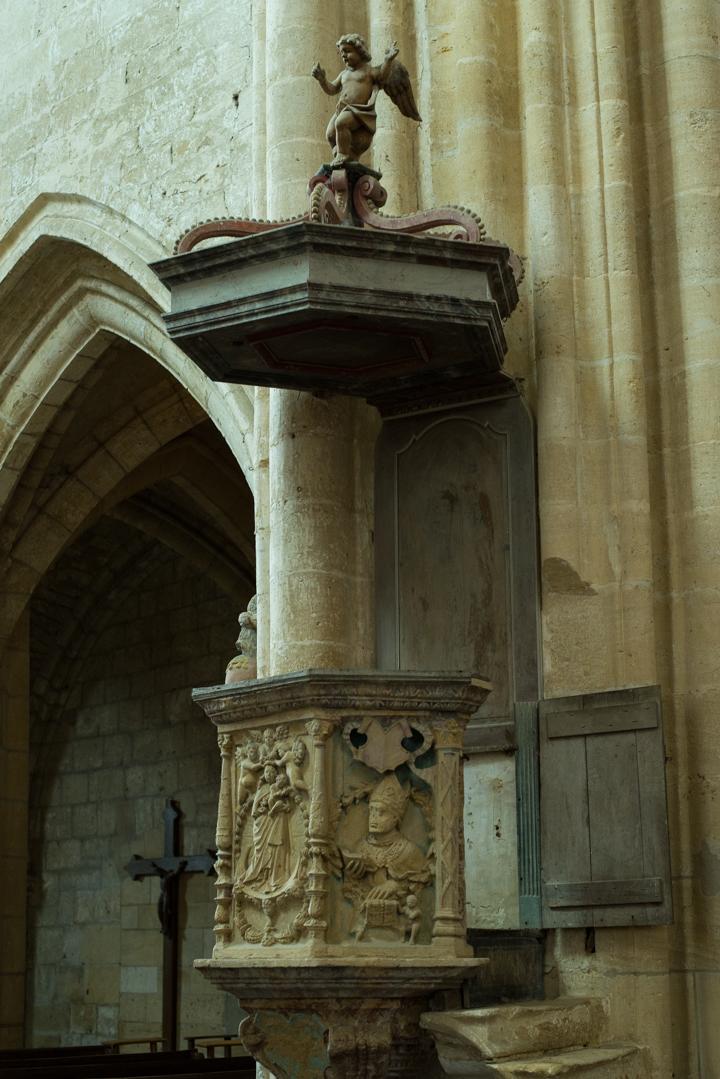 Pulpit - Notre Dame d'Avioth - Avioth - France-27