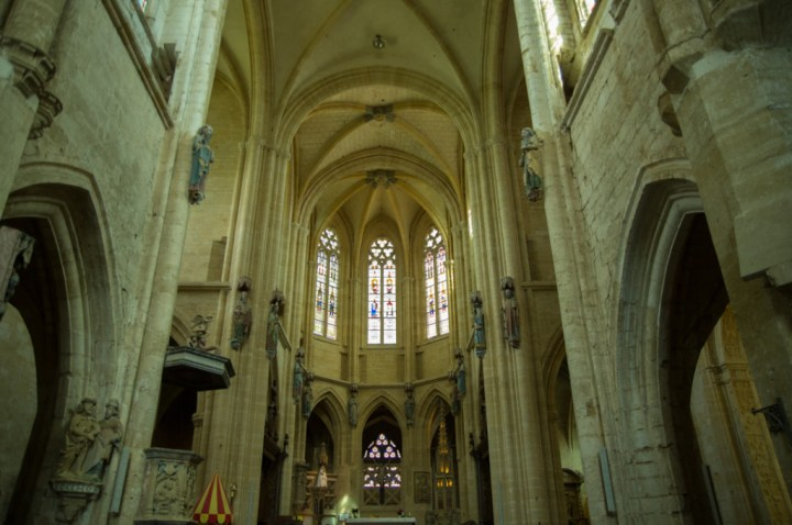 Quire and Apse - Notre Dame d'Avioth - Avioth - France