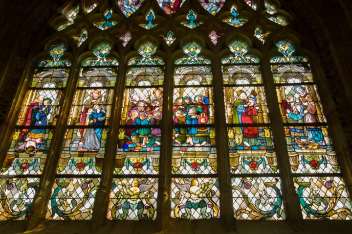 Stained glass - Notre Dame d'Avioth - Avioth - France
