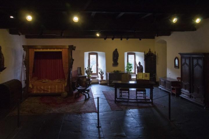 Vianden Castle - Luxembourg - bedroom