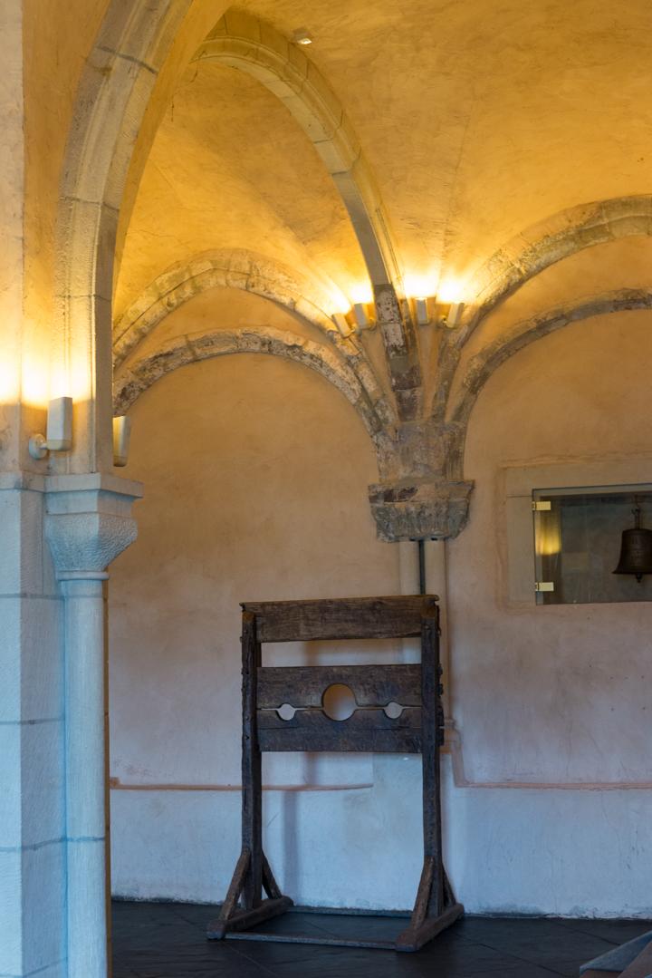 Vianden Castle - Luxembourg - captain hall - little palace