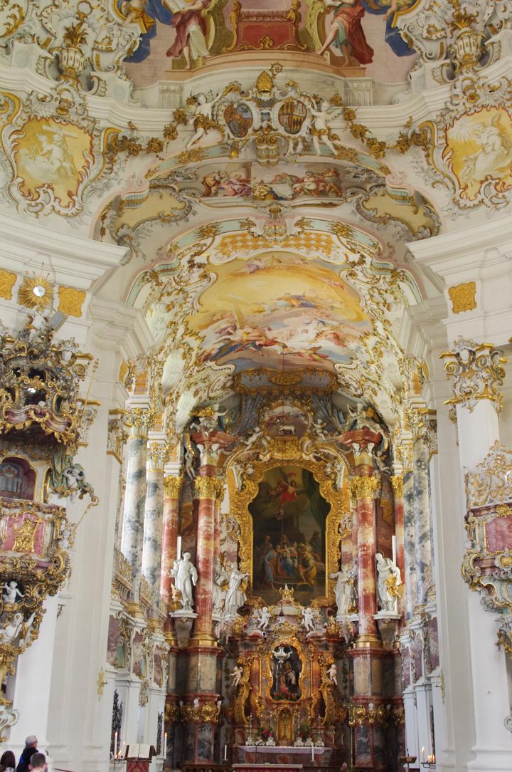 Wies Church - Wieskirche - Germany - rococo altar