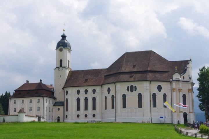 Wies Church - Wieskirche - outside front - Germany