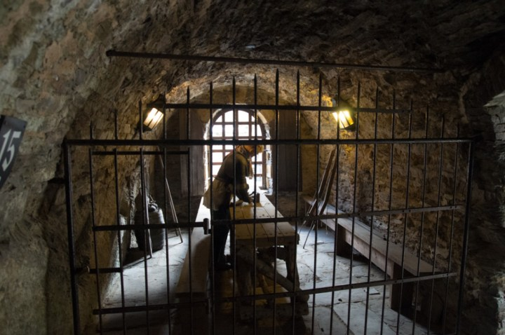 Bouillon Castle - Belgium - Godfrey of Bouillon - guard room
