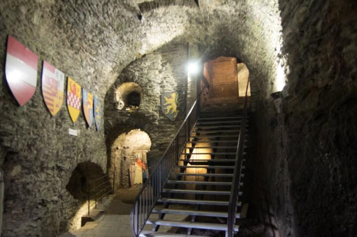 Bouillon Castle - Belgium - Godfrey of Bouillon - primitive room