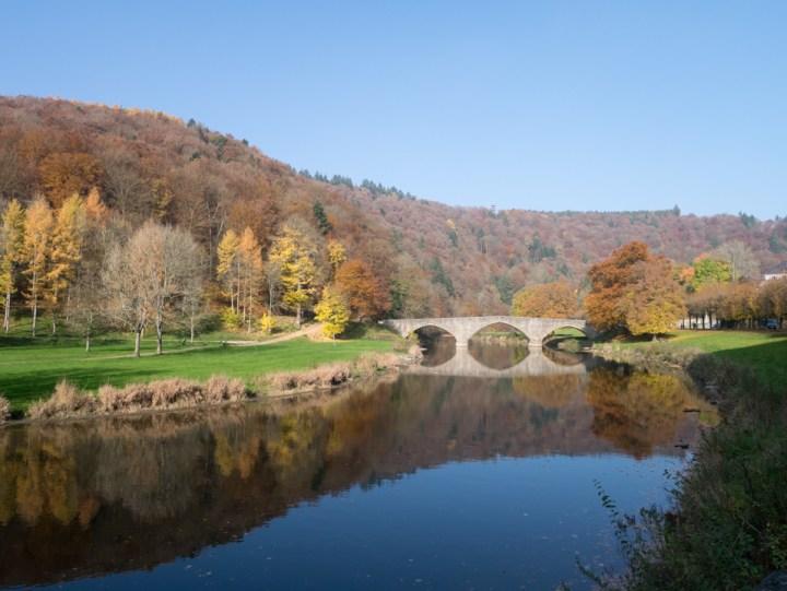 Bouillon Castle - Belgium - Godfrey of Bouillon - semois bridge