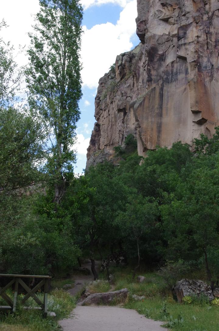 Ihlara Valley - Cappadocia - Turkey - path bridge