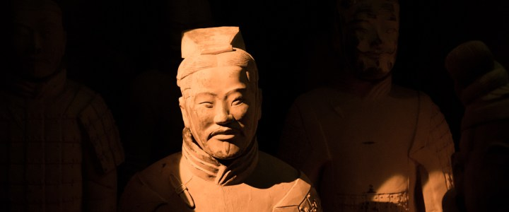 The warriors of the Terracotta Army are in Seville