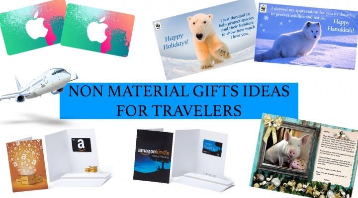 Non mateiral gift ideas for travel lovers - roadtripsaroundtheworld.com