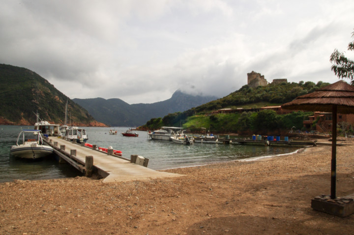 Scandola Nature Reserve - Girolata beach - Corsica