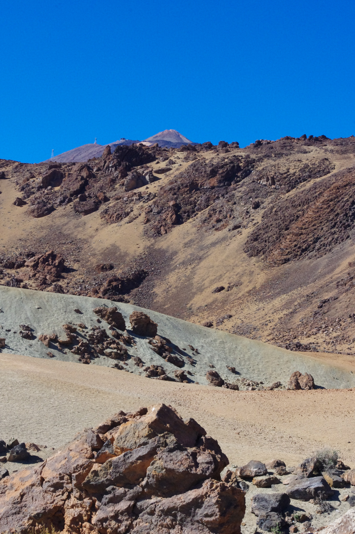 Tenerife - Spain - Mount Teide - Pico del Teide - National Park - desertic view