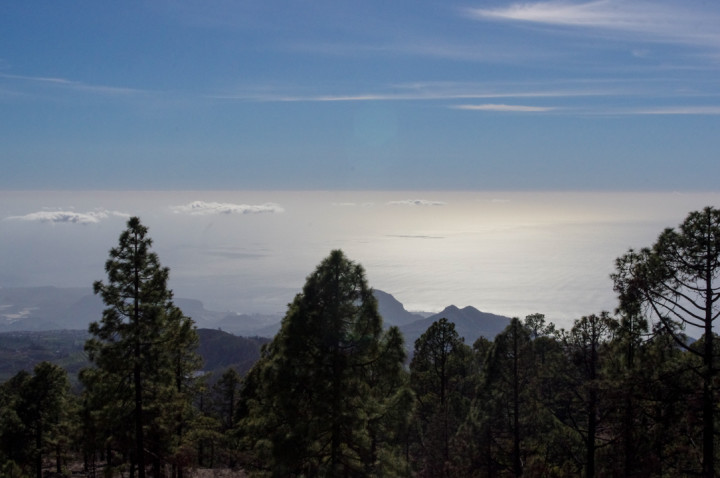 Tenerife - Spain - Mount Teide - Pico del Teide - National Park - the sea