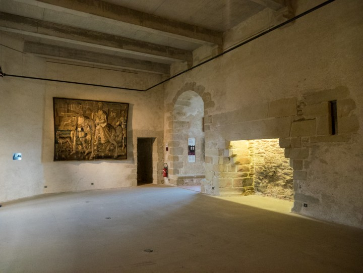Suscinio - Brittany - France - outer chamber