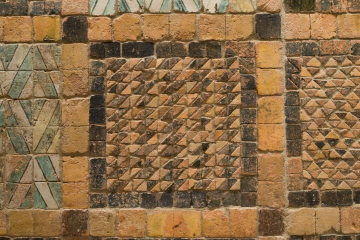 Suscinio - Brittany - France - pattern - terracotta tiles
