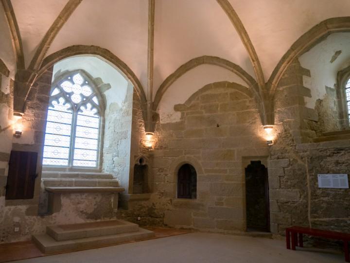 Suscinio - Brittany - France - the chapel