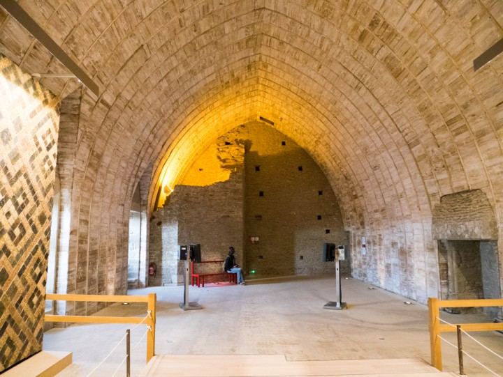 Suscinio - Brittany - France - the third floor great hall