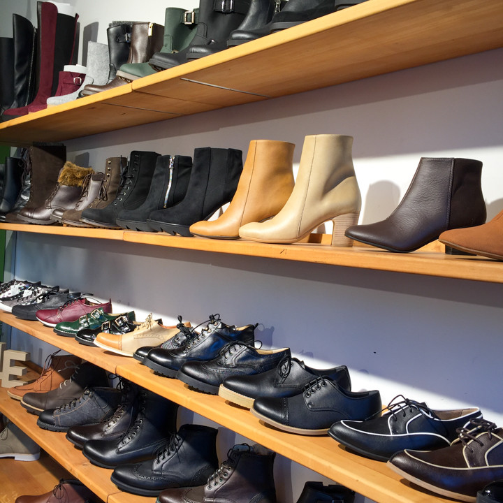 Avesu shoes selection - Schivelbeiner Straße or Vegan Avenue - Berlin