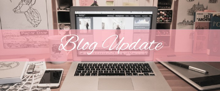 Blog Update & Other Exciting News!