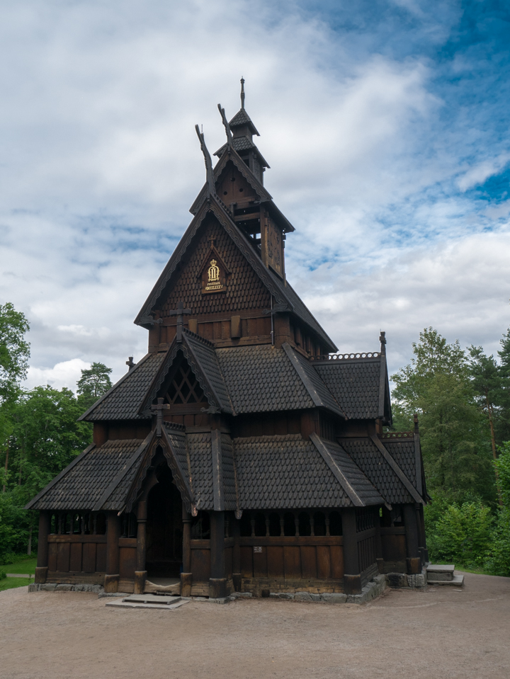 Norskfolkemuseum Oslo - Norway - open air museum - Gol Stave Church