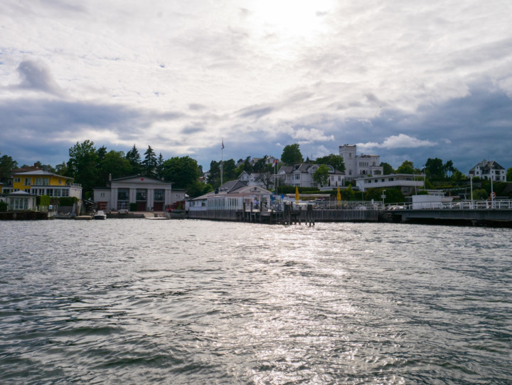 Oslo - Norway - view from the ferry