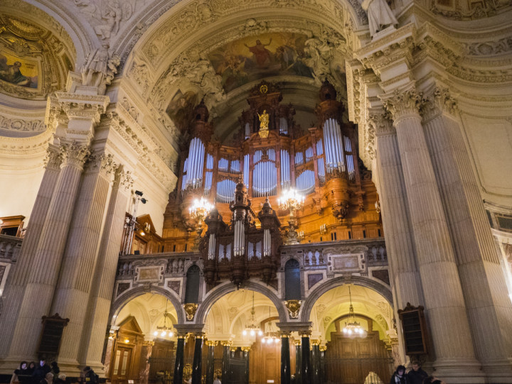 The organ of the Berliner Dom - Berlin Cathedral - Berlin - Germany