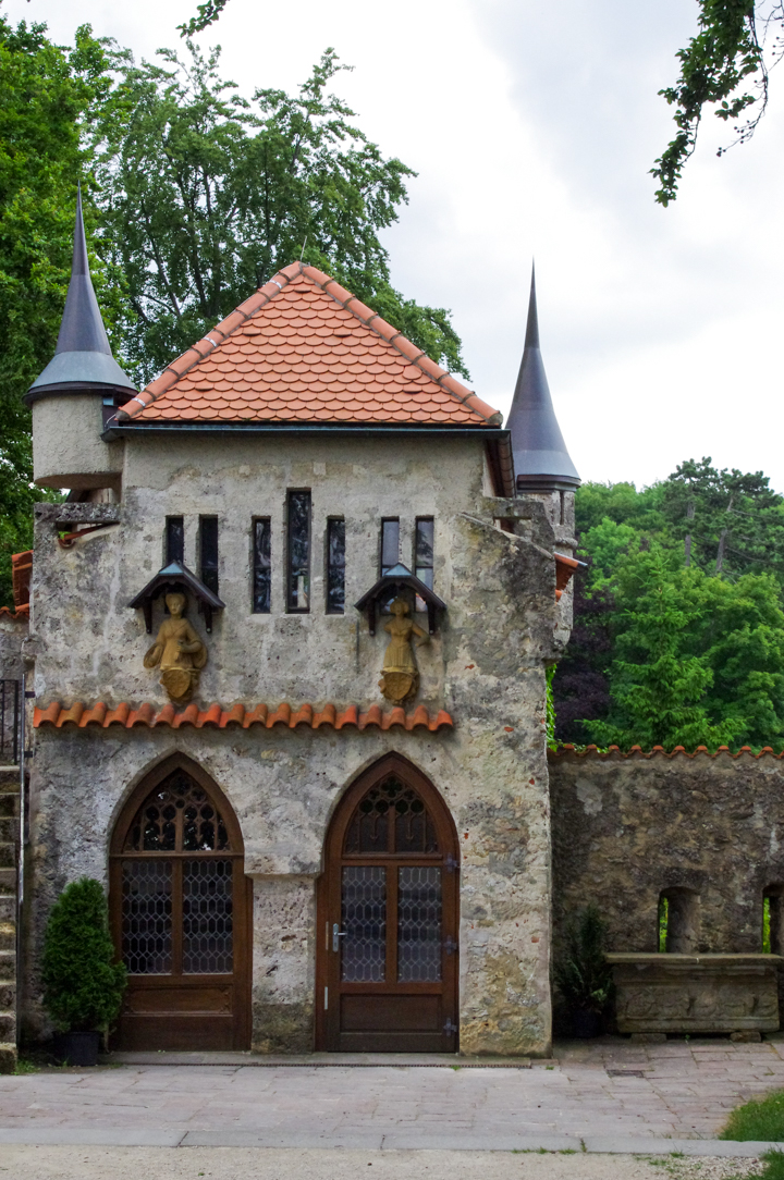 Adjoining building to the Lichtenstein Castle - visited during a road trips in Germany - learn more on roadtripsaroundtheworld.com