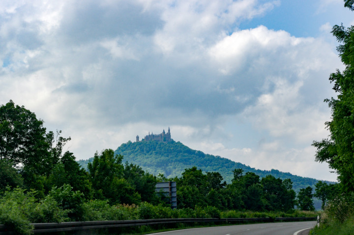 Arriving at the Hohenzollern Castle in Germany - Check out roadtripsaroundtheworld.com to find out more