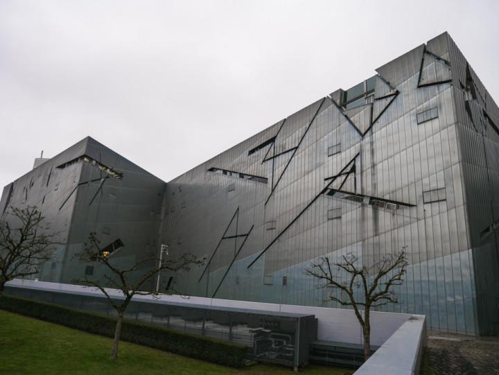 Jewish Museum Berlin - The Blitz by architect Daniel Libeskind - RoadTripsaroundtheWorld.com