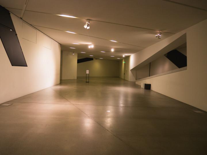 Jewish Museum Berlin - the Void leading to the Menashe Kadishman Fallen Leaves exhibition - RoadTripsaroundtheWorld.com
