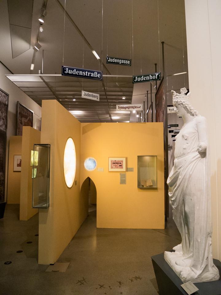 Jewish Museum Berlin - the beginning of the permanent exhibition - RoadTripsaroundtheWorld.com