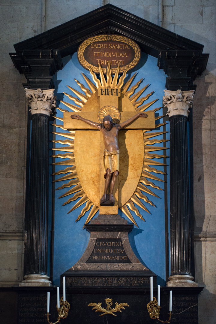The 10th Century Gero Cross or Gero Crucifix in the Cologne Cathedral - Germany