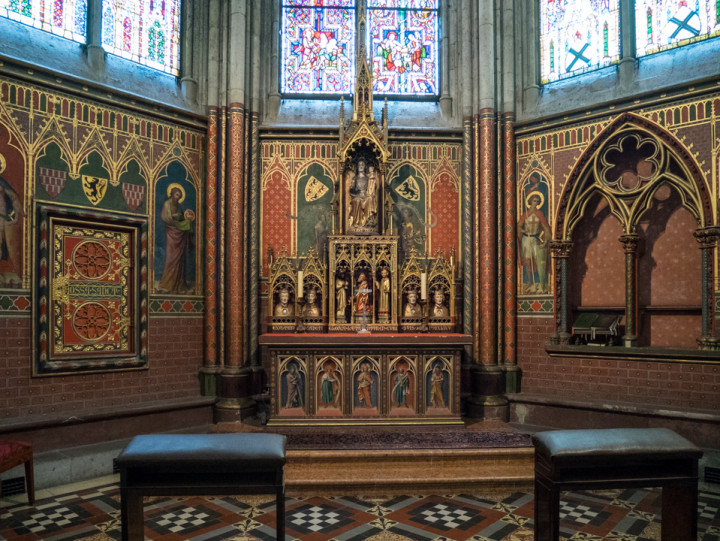 The Chapel of the Three Magi, Cologne Cathedral, Germany