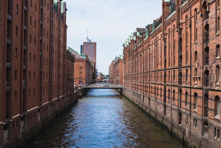 The Kontorhaus district in Hamburg, Germany - roadtripsaroundtheworld.com