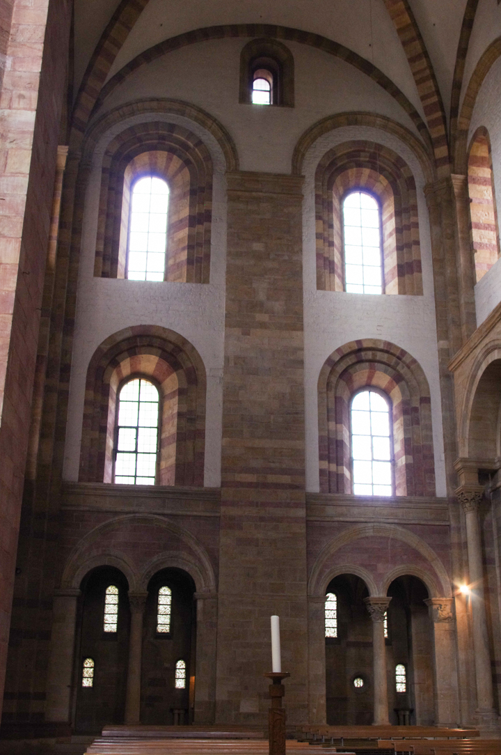 The Romanesque architecture of the Speyer Cathedral - Germany - Visit roadtripsaroundtheworld.com to learn more