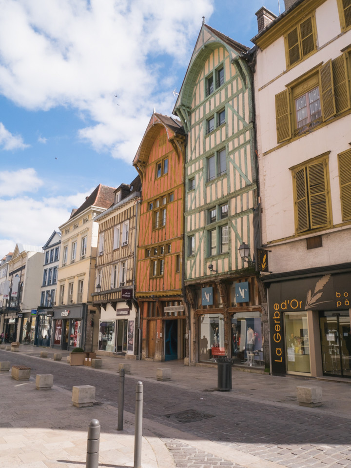 Beautiful medieval Troyes, France - roadtripsaroundtheworld.com