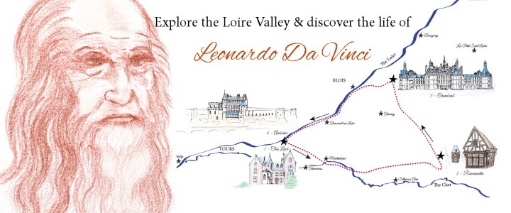 Follow the footsteps of Leonardo Da Vinci with a very special Road Trip
