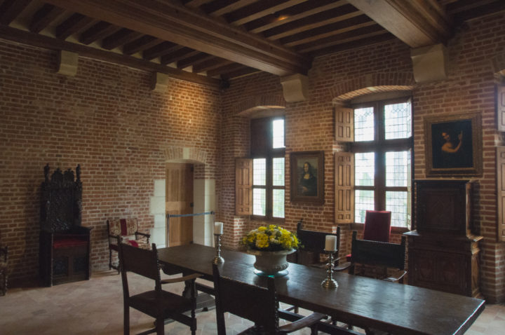 The Great room in the Clos Lucé, France - Find out more on roadtripsaroundtheworld.com