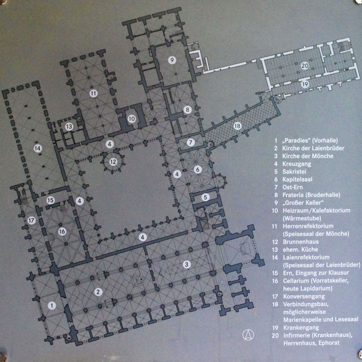 The Maulbronn Monastery floor plan - Germany - Find out more on roadtripsaroundtheworld.com-17