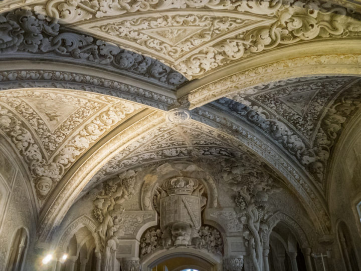 The Arabic room - Pena Palace - Sintra, Portugal - Learn more on roadtripsaroundtheworld.com