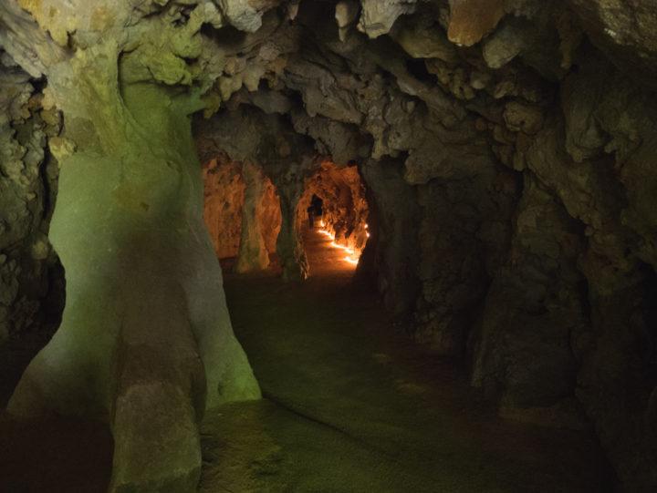 Inside the tunnels - Quinta da Regaleira Palace - Portugal - Learn more on RoadTripsaroundtheWorld.com