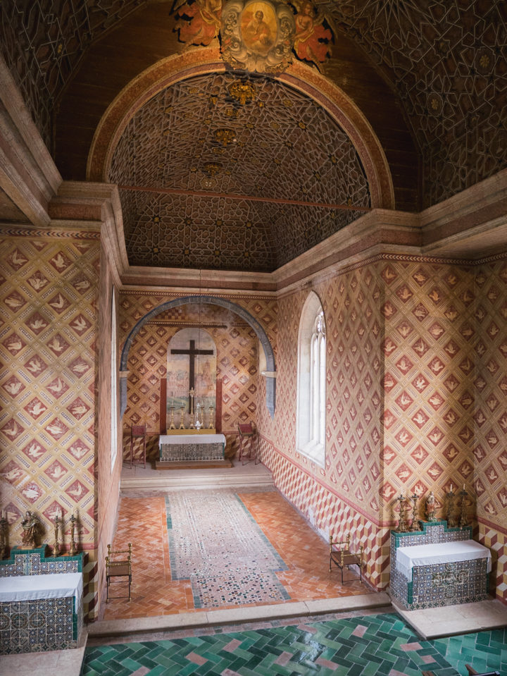 The Chapel of the Sintra Palace - Portugal - Learn more on RoadTripsaroundtheWorld.com