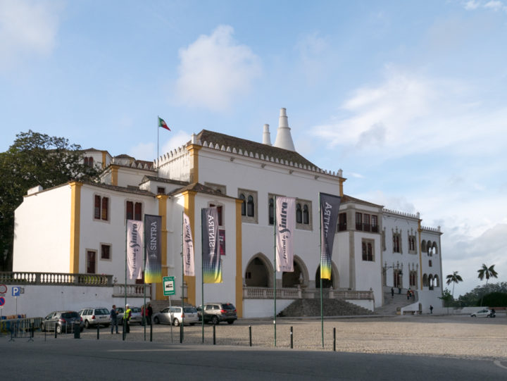 View of the Sintra Palace - Portugal - Learn more on RoadTripsaroundtheWorld.com