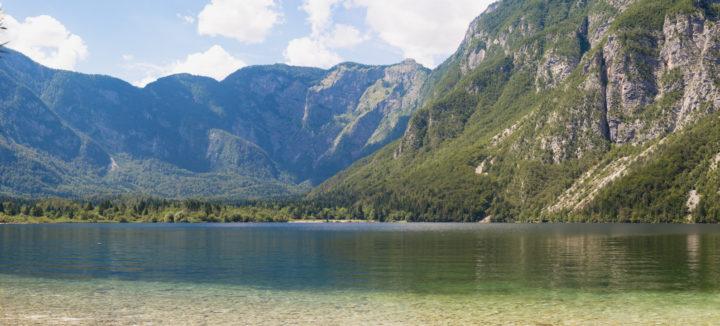 The Lake Bohinj, Slovenia - learn more on RoadTripsaroundtheWorld.com