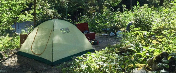 How the find the perfect spot in a camp site