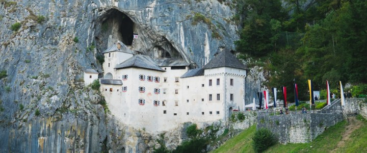 Visit of the Predjama Castle in Slovenia
