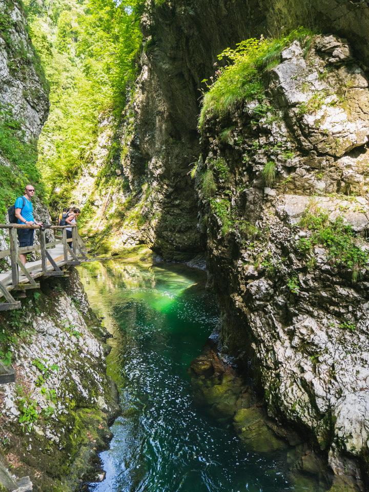 Vintgar Gorge Slovenia - Learn more on www.RoadTripsaroundtheWorld.com