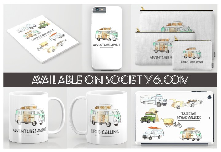 Miss Coco design for RTatW on Society6