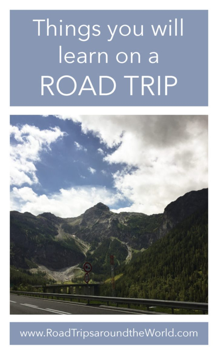 Some of the things you will learn on a Road Trip - www.RoadTripsaroundtheWorld.com